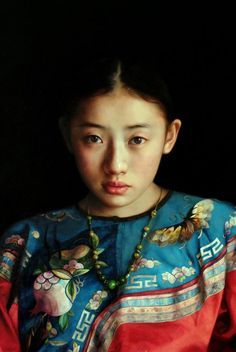 Zhao Kailin 赵开霖 is an Chinese painter known for working in the Figurative style. Kailin was born in 1961 in China. In 1988, he studied at Oil Painting Department of Central Academy of Fine Arts. Now he lives in China. For biographical notes -in english and italian- and other works by Kailin see part 1