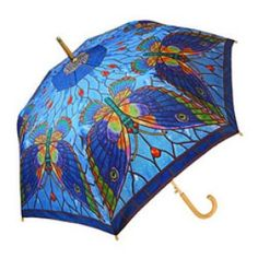 Splattered Paint Automatic Collapsable Push Button Umbrella 36 Inch Popup