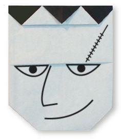 Origami Frankenstein(face)