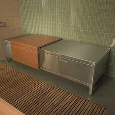 Amazing Hidden Kitchen Bathroom 6