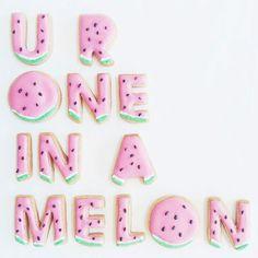 U R One in a Melon via Vickie Liu