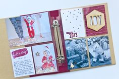 Project Life by Stampin' Up! Hello December collection.  Perfect for documenting your holidays.  By Rachel DelGrosso