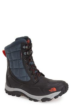 The North Face Waterproof ThermoBall™ Insulated Boot (Men) available at #Nordstrom