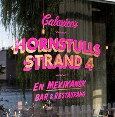 Calexico's - The branding and menus for this Swedish Mexican restaurant would fit seamlessly into chic Texas neighborhoods—and, no, that's not an oxymoron. The paper placemat menus with custom hand-painted type are a great touch for a restaurant looking to merge street tacos with the luxury of a trendy bar.