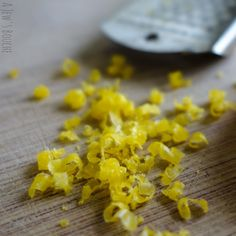 Cured egg yolk, great for shaving over almost anything!