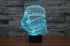 ON SALE NOW:https://www.rousetheroom.com/products/star-wars-gifts-decor-storm-trooper-2 3D, Color Changing, Storm Trooper B, Star Wars Death Star Lamp, Warship, LED Night Light, Atmosphere Lamp, Novelty Lighting