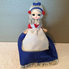 Bradley Artmark Korea BIG EYE Doll Betsy Ross by KMSCollectibles