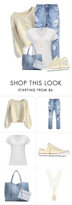 """Untitled #893"" by soleuza ❤ liked on Polyvore featuring Chicwish, James Perse, Converse, Forever 21, women's clothing, women's fashion, women, female, woman and misses"