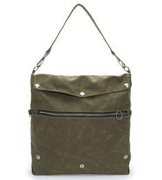 Finley Convertible Waxed Canvas Bag | $135