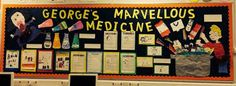 Image result for george's marvellous medicine display