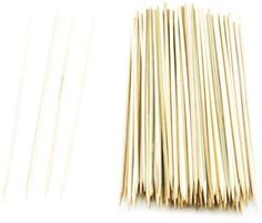 Mr. Bar-B-Q, Inc. 02005X 10-Inch Bamboo Skewers, 100-Piece by Mr. Bar-B-Q. $4.25. 100 Count. 10-Inch bamboo skewers. Great for use with chicken, shrimp, all meats. 10-Inch bamboo skewers, 100-piece.