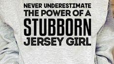 Jersey Girl, T Shirts For Women, Tops, Fashion, Moda, Fashion Styles, Fashion Illustrations