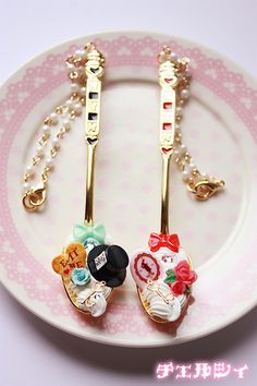 cute decoden spoons