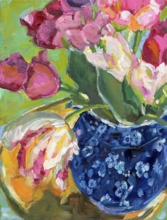 "Daily Paintworks - ""ALWAYS SASSY"" - Original Fine Art for Sale - © Jean Delaney"