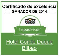 Certificado de Excelencia #Tripadvisor2014. Conseguido gracias a la valoración y comentarios de nuestros clientes. Muchas gracias!