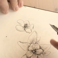 Easter is just the best time to draw flowers. Draw Flowers, Leaf Tattoos, Easter, Drawings, Videos, Illustration, Instagram Posts, Art, Art Background