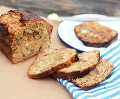 Banana & Yoghurt Bread Recipe - vegetarian - Ideal for a weekend breakfast treat or teatime snack, this warming spiced banana bread is the best thing to happen to overripe bananas. Why add yoghurt? Because it'll guarantee a beautifully moist loaf every time. Try sliced, toasted and slathered in butter, jam or your favourite nut butter.