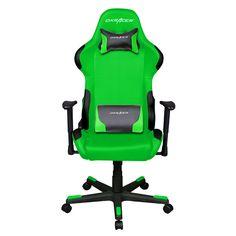DXRacer Green Chair $299.#e3 #E3Expo #Gamer #Gaming #Nerd #Geek #Nintendo #Xbox #XboxOne