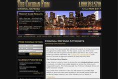 2009 Web Award for Outstanding Achievement in Web Development - The Cochran Firm Criminal Defense (www.cochranfirmcriminaldefense.com)