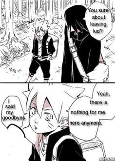 sasuke sensei and boruto Naruhina, Sasunaru, Boruto, Naruto Cute, Naruto And Sasuke, Manga, Memes, Anime Life, Fictional Characters