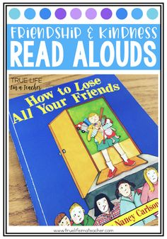 Books and read alouds to help teach students about friendship and kindness. Great for building a community in your classroom.