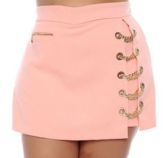 Shorts Saia Plus Size Walkiria