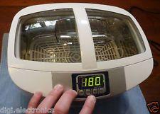 Limpieza ultrasónica Máquina + calefacción + Timer = joyería limpiador;  Gafas;  Herramientas