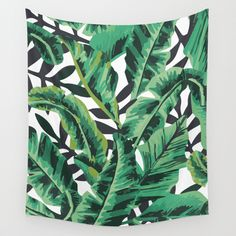 Buy Shower Curtains Featuring Tropical Glam Banana Leaf Print By Nikki Made From Easy Care Polyester Our Designer Are Printed In The USA