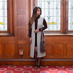 This long open sleeveless jacket is cut from soft knitted fabric and pairs great with our range of winter shirts. Winter Shirts, Sleeveless Jacket, Knitted Fabric, Range, Pairs, Jackets, Sleeveless Coat, Down Jackets, Sleeveless Blazer