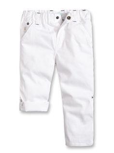 Pantalon toile modulable - Blanc - Nos sélections - Obaïbi & Okaïdi