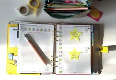 Planner love; my yellow Kikki K planner; weekly planning; planning ideas; getting organised