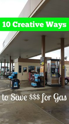 10 Creative Ways to save money for gas on a road trip - GREAT ideas to pin for later! #travel