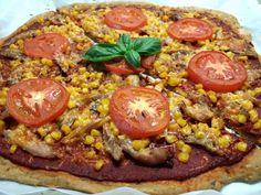 A legegyszerűbb, vékonytésztás %-kal CH csökkentett pizza - Salátagyár Paella, Vegetable Pizza, Wellness, Vegetables, Eat, Ethnic Recipes, Food, Essen, Vegetable Recipes