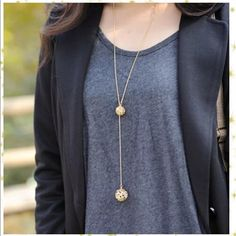Long Statement Necklace Brand new! very cute Jewelry Necklaces