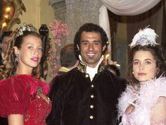 O Quinto dos Infernos - Marcos Pasquim, Luana Piovani e Claudia Abreu (Foto: CEDOC/ TV GLOBO - João Miguel Junior)