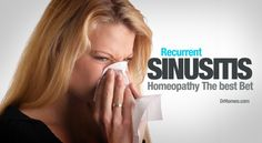 Feature on top Homeopathic medicines for sinusitis and sinus infections . Homeopathic treatment for sinusitis causing pain, headaches, discharges and congestion