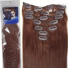 20''7pcs Fashional Clips in Remy Human Hair Extensions 24 Colors for Women Beauty Hot Sale (#33-dark auburn), http://www.amazon.com/dp/B008HODSOQ/ref=cm_sw_r_pi_awdm_6E6qwb15PGJ4W