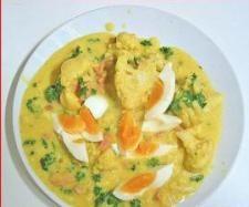 Rezept Blumenkohl-Eier-Ragout von pisuha - Rezept der Kategorie Hauptgerichte mit Gemüse