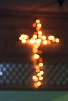 Cross...what a great way to show a cross...full of light!!