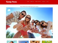 A website template designed to showcase your family photos. Share your photos with all your friends and family. Great for beginners!