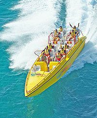 Passion Island, Mexico    Twister Boat Excursion Hang on to your sunglasses for a really wild ride!