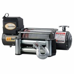 Visit The Home Depot to buy lbs. DC Electric Winch Single Line Pull with Wireless Remote Led Work Light, Work Lights, Jeep Winch, Winch Cable, Welding Wire, Electric Winch, Spy Gear, Power Motors, Power Out