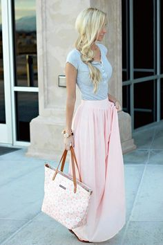 45 Cute Spring Outfits to Try This Season 2016 - Latest Fashion Trends..