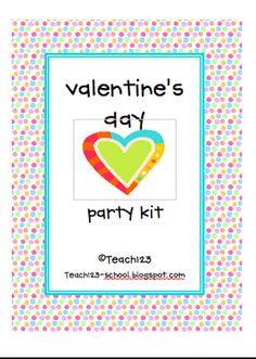 V-day Party Kit - FREE