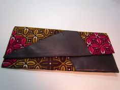 African Print Clutch Purse. $20.00, via Etsy.