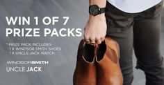 Win 1 of 7 packs from Uncle Jack   Windsor Smith!