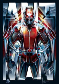 Ant-Man Poster - Orlando Arocena