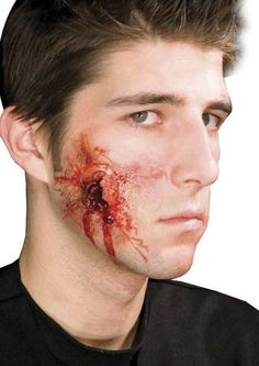 bullet wound in head makeup - Google Search | Halloween ...