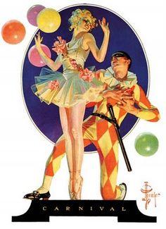 J.C. Leyendecker, Carnival