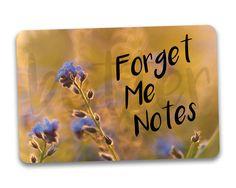 #fridgemagnets #magnets Forget Me Notes Fridge Magnet by BetterMagnets